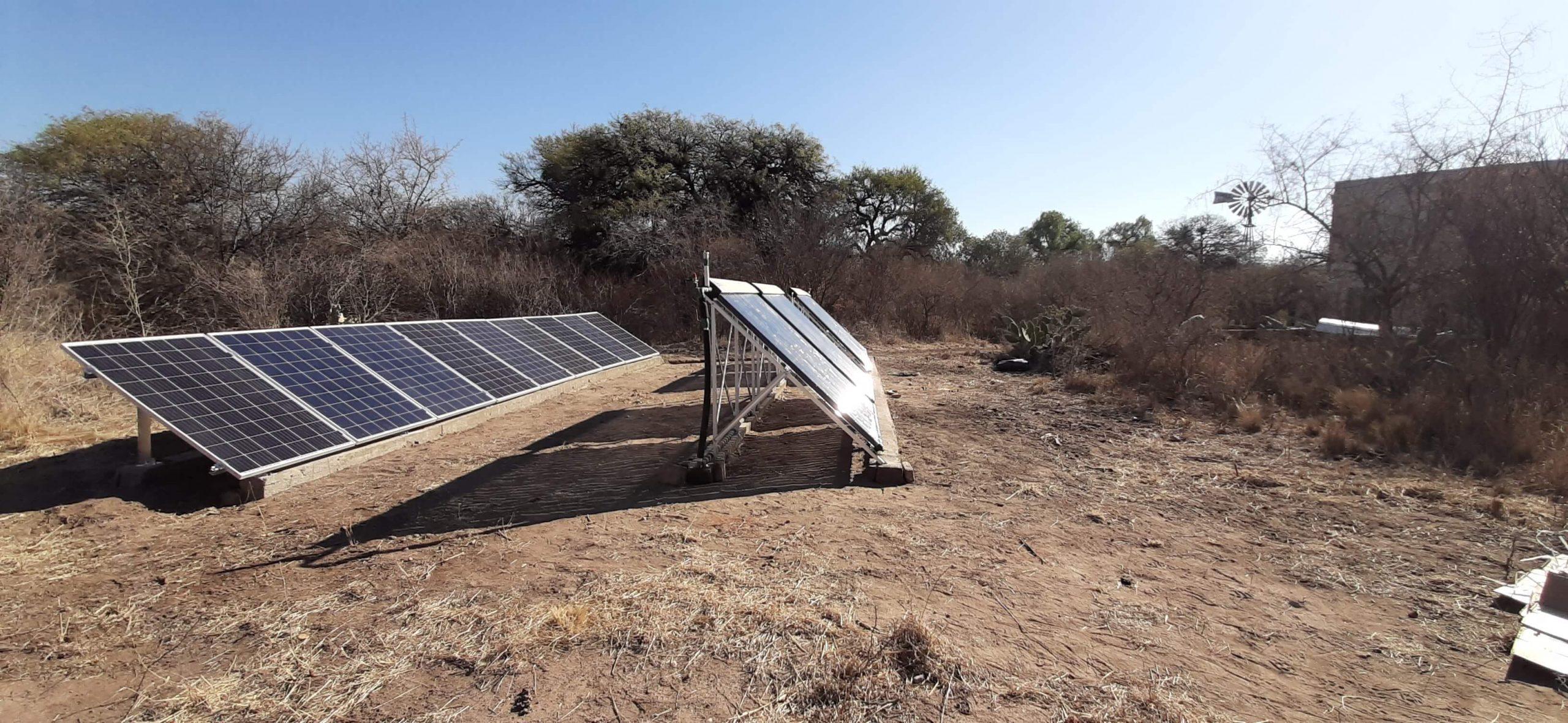 Sistema Termico y Fotovoltaico Hibrido San Marcos Sierra Córdoba